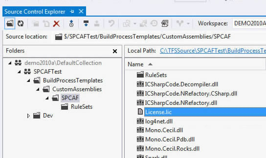 SPCAF   How to: Install your license key